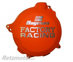 BOYESEN Couvercle de carter d'embrayage BOYESEN Factory Racing alu orange KTM EXC250/300