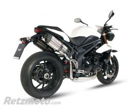MIVV Silencieux double MIVV Suono inox Triumph Speed Triple 1050