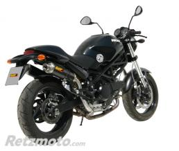 MIVV Silencieux double MIVV Oval Classic carbone Ducati Monster 695