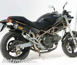 MIVV Silencieux double MIVV GP carbone Ducati Monster 600