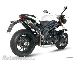 MIVV Silencieux double MIVV GP carbone Triumph Speed Triple