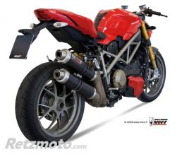 MIVV Silencieux double MIVV GP carbone Ducati Streetfighter