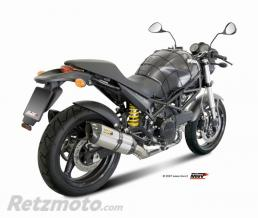 MIVV Silencieux double MIVV Suono inox/casquette carbone Ducati monster 695