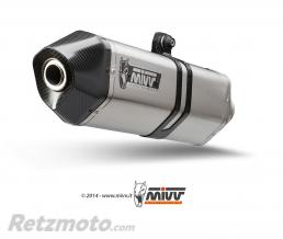 MIVV Silencieux MIVV Speed Edge inox/casquette carbone BMW F800R