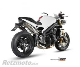 MIVV Silencieux double MIVV Ghibli inox Triumph Speed Triple