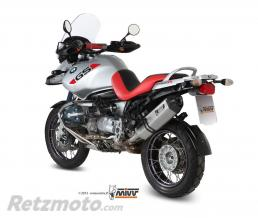 MIVV Silencieux MIVV Speed Edge inox/casquette carbone BMW R1150GS
