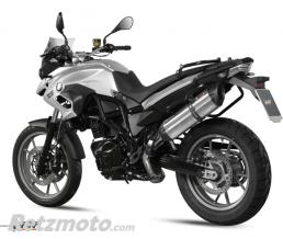 MIVV Silencieux MIVV Suono inox/casquette carbone BMW F700GS
