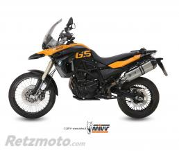 MIVV Silencieux MIVV Speed Edge inox/casquette carbone BMW F650GS/F800GS