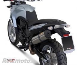 MIVV Silencieux MIVV Suono inox/casquette carbone BMW F650GS/F800GS