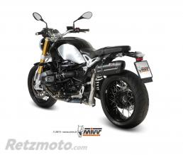 MIVV Silencieux MIVV Suono inox/casquette carbone BMW R1200 nineT