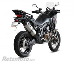 MIVV Silencieux MIVV Speed Edge inox Honda CRF1000L Africa Twin