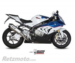 MIVV Silencieux MIVV Speed Edge inox/casquette carbone BMW S1000RR