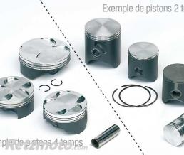 WISECO KIT PISTON POUR XR500R 1983-84 Ø92.5MM