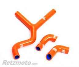 SAMCO SPORT Durites de radiateur SAMCO kit transformation Y orange - 3 durites KTM