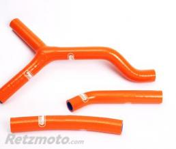 SAMCO SPORT Durites de radiateur SAMCO kit transformation Y orange - 3 durites KTM SX125/250