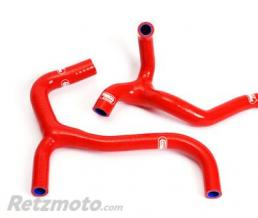 SAMCO SPORT Durites de radiateur SAMCO kit transformation Y rouge - 2 durites Honda CRF450R