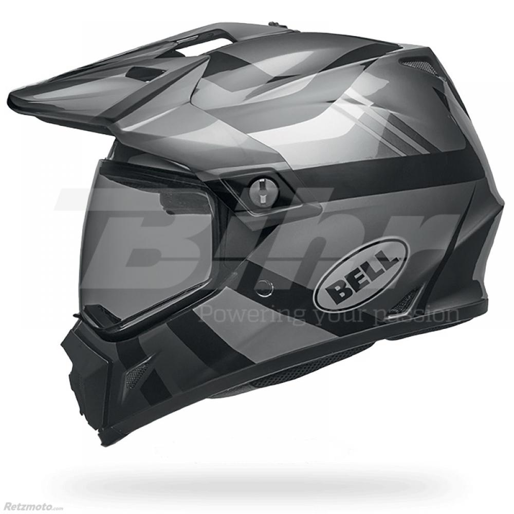 Casque BELL MX-9 Adventure MIPS Matte/Gloss Blackout taille L