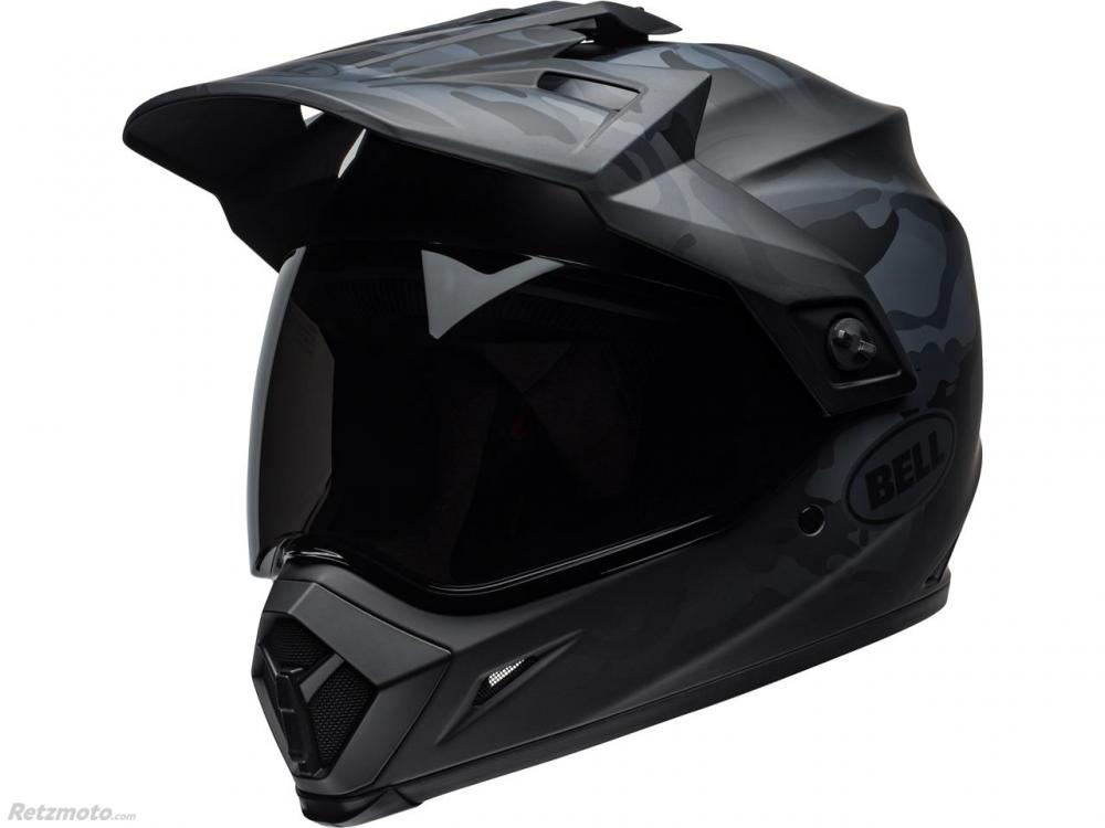 Casque BELL MX-9 Adventure MIPS Stealth Matte Black Camo taille M