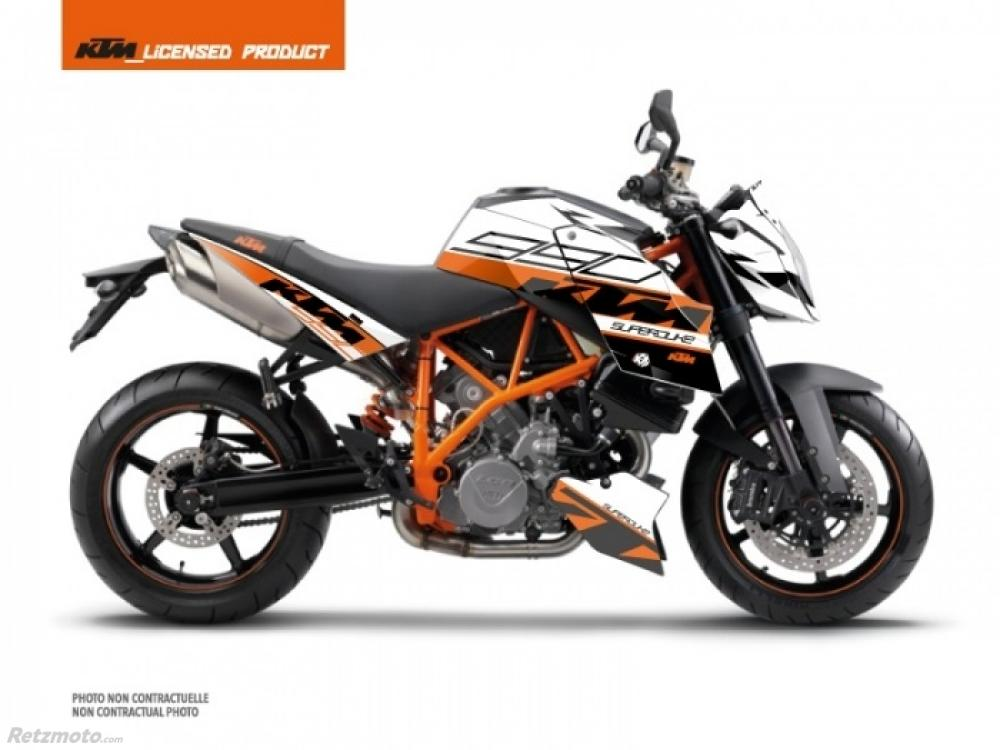 KIT DECO MOTO MASS KTM SUPER DUKE 990 ORANGE
