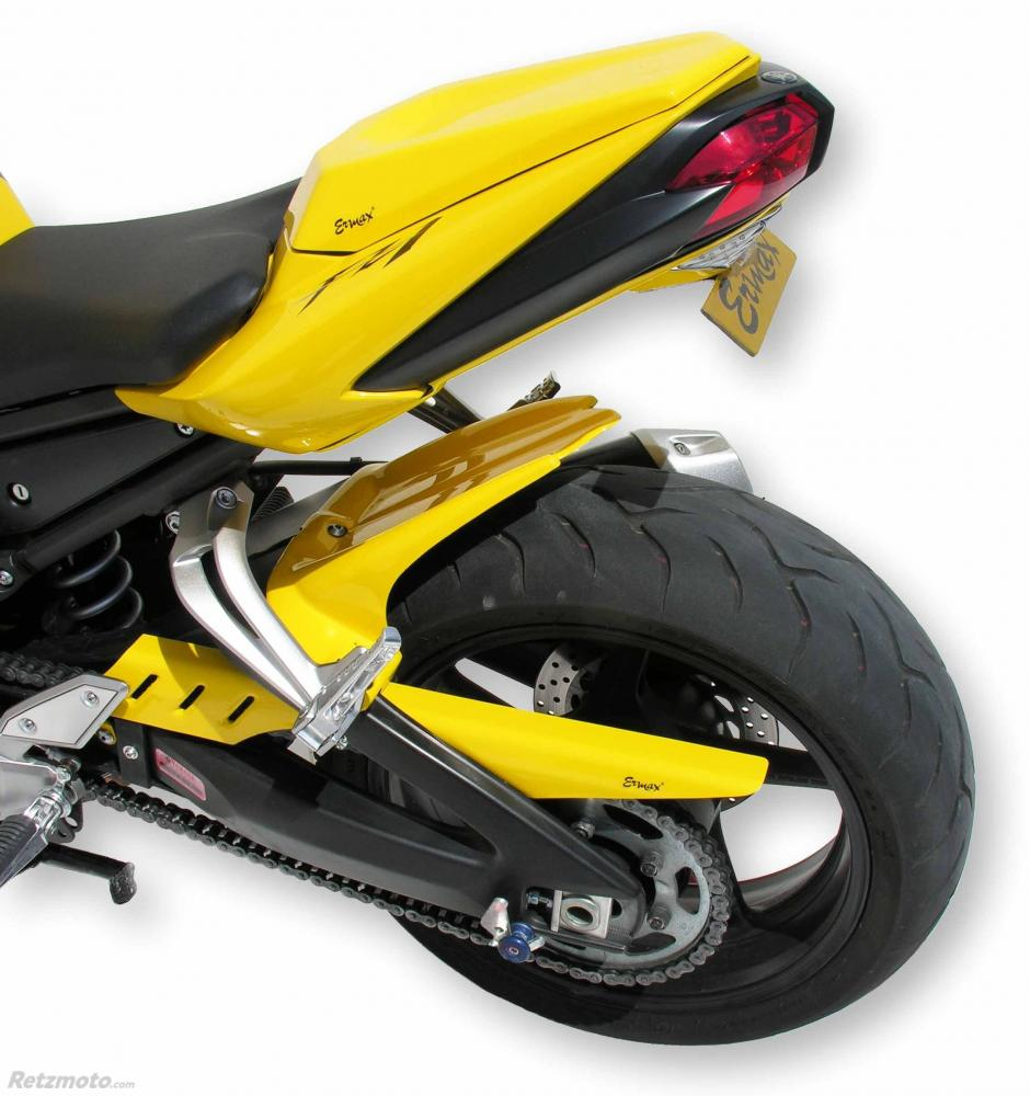 garde boue arriere (avec cache chaine) Ermax pour FZ 1 N 2006-2015, jaune 2006(performance yellow /light reddish yellow solid 1 [LRYS1])