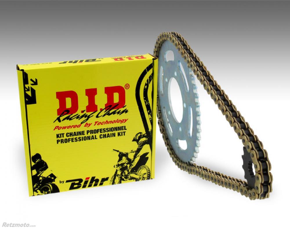 Kit chaîne D.I.D 525 type VX 16/43 (couronne standard) Honda CB600F Hornet ABS
