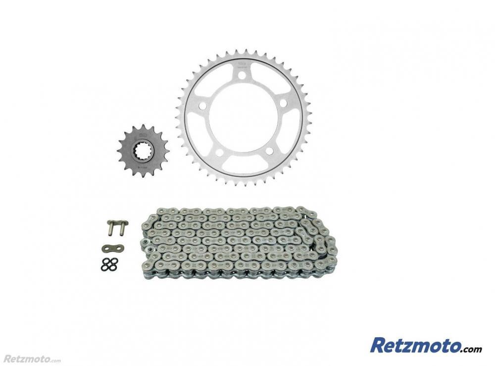 Kit chaine HONDA CB600F HORNET ABS AFAM 16x43 525 type XRR (couronne standard)